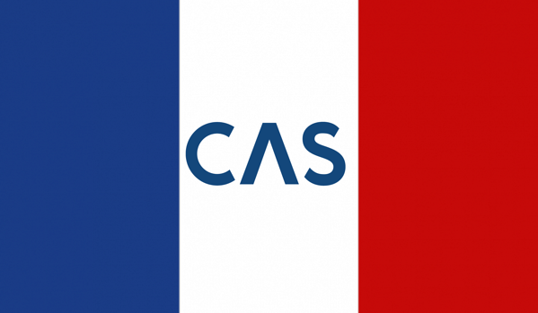 CAS integration with france - french flag