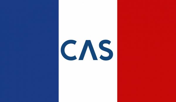 CAS integration france french flag